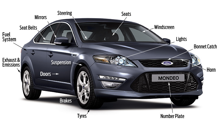 PRE NCT Test image of ford mondeo