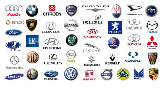 All Car Logo Bright Background Ronan Kelly Motors
