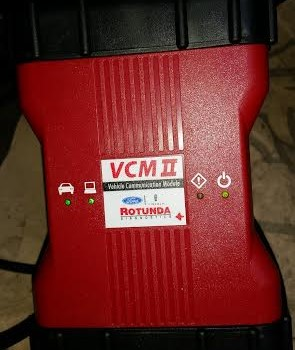 vcm-2 (2) handheld fault finder for fords