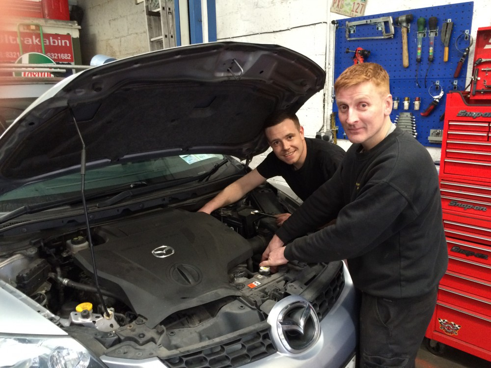 Meet the team Ronan & James