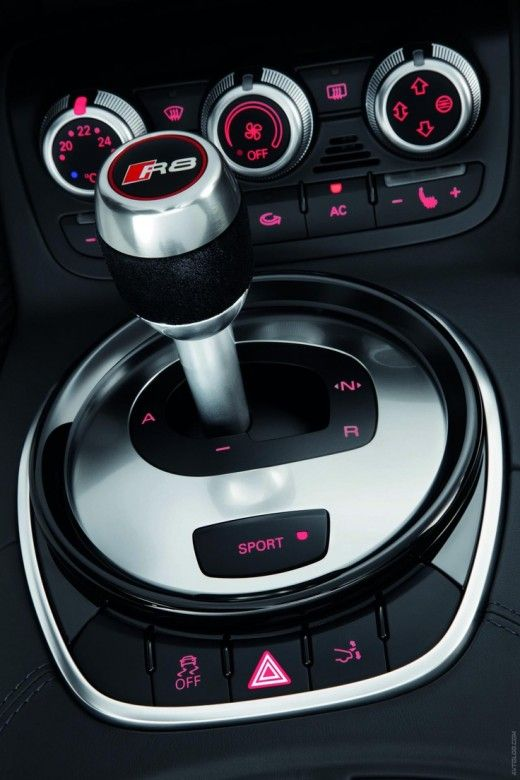 Gear shift stick cockpit