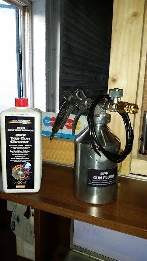 Dpf-Cleaner kit