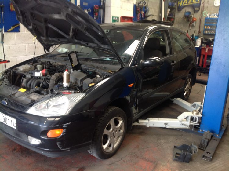 overheating ford focus