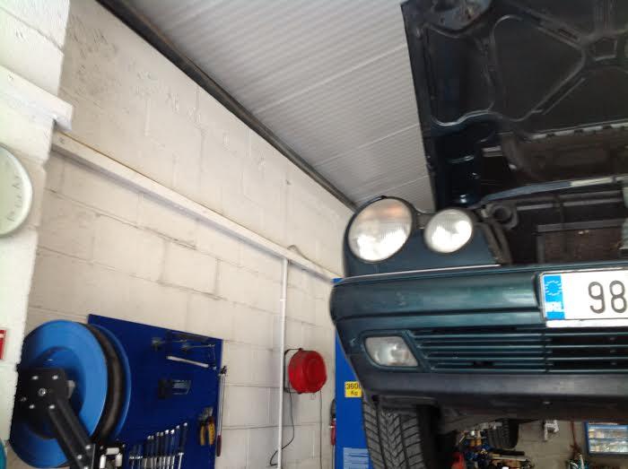 Mercedes on the ramp ronan kelly motors